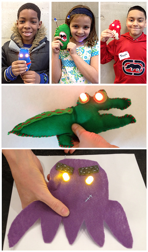 Glowie Monster Workshop